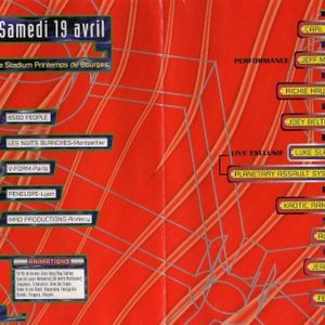 Joey Beltram + Richie Hawtin - Hexagona 97 - Printemps de Bourges (19/04/1997)
