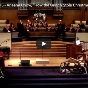 "Arleene Chow, ""How the Grinch Stole Christmas!"""