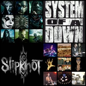 40 minutos de -SLIPKNOT and SYSTEM OF A DOWN-