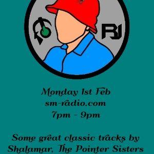 "RJ's ""Classic 80's Groove"" Show on sm-radio.com, Monday 1st February 2016"