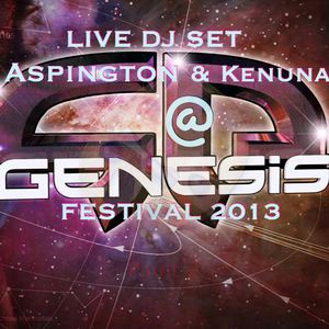 Aspington and Kenuna live dj set Genesis festival 2013