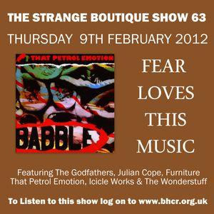 The Strange Boutique Show 63