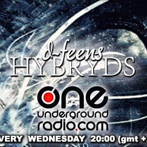 d-feens - Hybryds .01 @ One Underground Radio