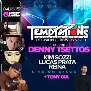 Live @ Rise - Tempts Reunion Pt. 1 - April 18, 2015