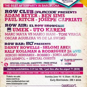 Adam Beyer Live @ 12hr Non Stop Festival,Row 14 (Spain) 19.06.11