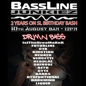 Squeekz feat. MC Futureline - BassLine 2nd Birthday Bash