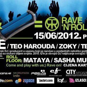 Teo Zver & Q'le@sirup 15.6.2012. R'n'R 3 hours techno