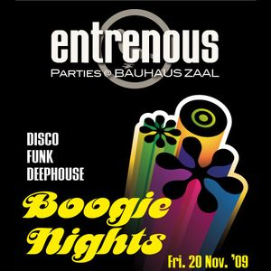 Boogie Nights - Entrenous - Brugge / 2009.11.20