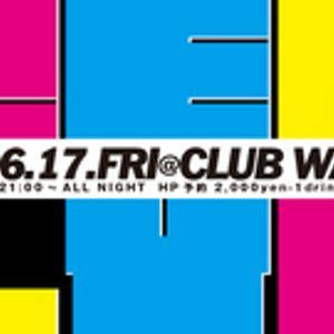 """Reply""  2011.06.17.fri at club Wakusei"