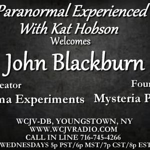 Paranormal Experienced with Host Kat Hobson_20170419_John Blackburn