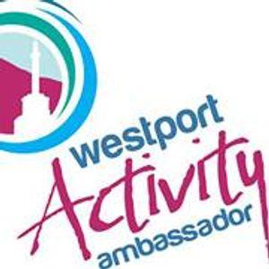 Westport activity Ambassadors, speaking with Johnny Oosten.