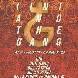 tINI @ The BPM Festival 2014 - tINI and The Gang (08-01-14)
