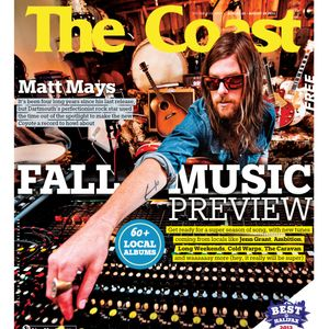 The Coast's Fall Music Preview, 2012