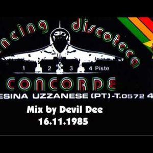 DEVIL DEE live at concorde, chiesina uzzarese pistoia italy 19.09.1986