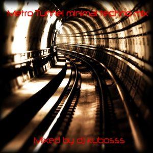 Metro tunnel minimal techno mix