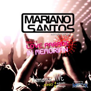 Mariano Santos @ Set CD tribute love parade (PROMO SET)