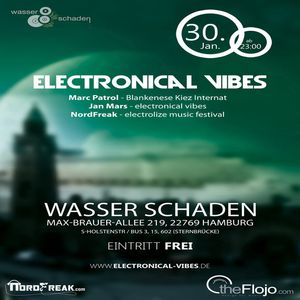 2015.01.30 - electronical vibes club with NordFreak, Marc Patrol, Jan Mars