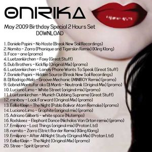 Onirika DJ Set - May 2009 Birthday's Special 2 hrs.