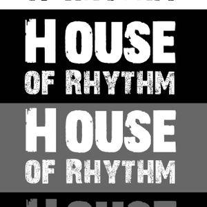 HOUSE OF RHYTHM - Guestmix Vanzellott