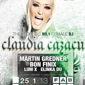 Claudia Cazacu - Exclusive Guest Mix For Fabric (January 2013)