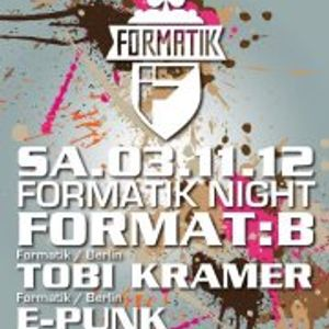 E-PUNk zur Formatik Night @ Romy-S (03.11.2012)