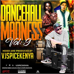 Dancehall Madness Vol 9-VjSpiceKenya