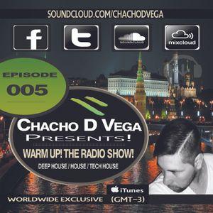 Warm Up! The Radio Show! [Episode 005] Marcelo Suarez Dj Guest!