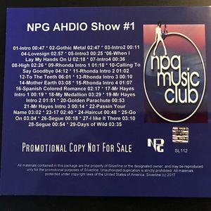 NPG Audio Show 1