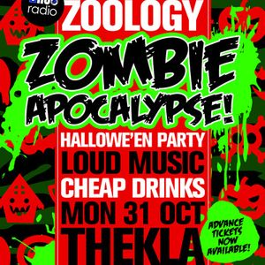 Zoology Radio Halloween Special - 31.10.11