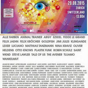 DJ Cruse Live@ Streetparade Zürich Paradeking Truck 29.8.15
