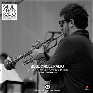 Jazz On 45 Vol. 3 - Todd Simon DJ/Trumpet Set on Soul Circle Radio #144 live @ Delicious Pizza