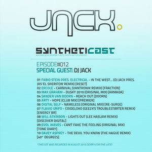 Syntheticast #012 - Special guest: Dj Jack