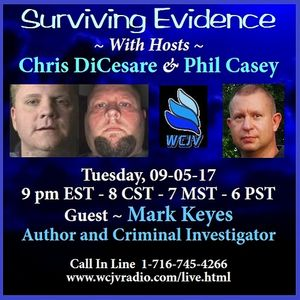 Surviving Evidence20170905_Chris DiCesare and Phil Casey_Mark Keyes