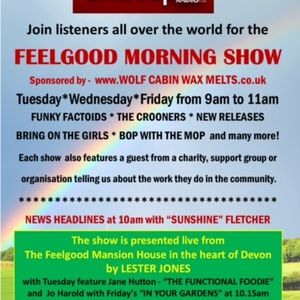 DANIEL LINDQVIST Star of musical theatre on The Feelgood Morning Show