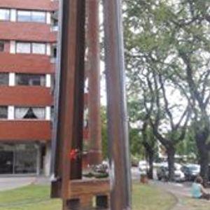 Octavio Podestá, artista, escultor
