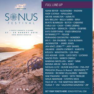 Joseph Capriati - live at Sonus Festival 2017 (Papaya, Croatia) - 23-Aug-2017