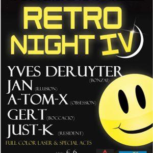 A-TOM-X vs JUST-K @ MEGA RETRO NIGHT IV (geel)