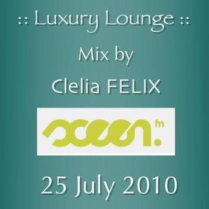 Clelia FELIX - Luxury Lounge - Sceenfm - July 25