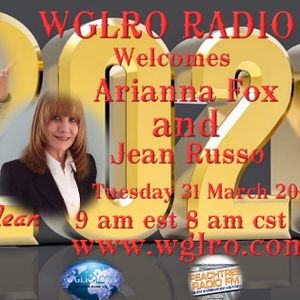 WGLRO Radio welcomes Arianna Fox and Jean Russo the DWMS 3-31 20