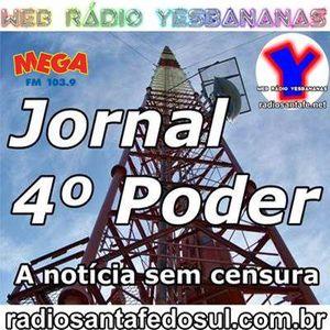 Jornal 4 Poder 30-04-2014 - Web Rádio Yesbananas / Rádio Mega - Santa Fé do Sul #santafedosul
