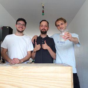 Studio Session w/ hundert Records (Leibniz, DJ Bwin and DJ OK)