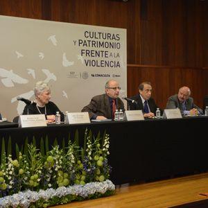 Mesa redonda Culturas y Patrimonio frente a la violencia