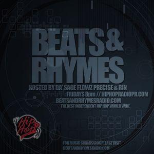 Beats & Rhymes Radio Show 8.21.15