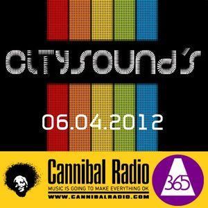 δeface365 + cannibal radio = citysounds