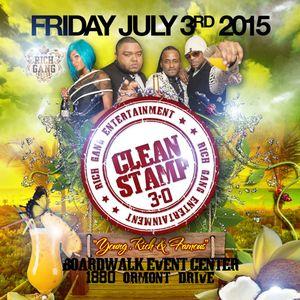 Clean Stamp Promo Mix [July 3rd, 2015 @ Boardwalk Event Center]