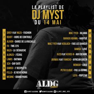 ALDGSHOW de DJ MYST aka La LEGENDE sur Generations FM emission du 14 Mai 2017 Part I