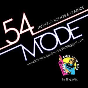 54 Mode Radio Show: Tuesday 12th April: Guest Casio Social Club