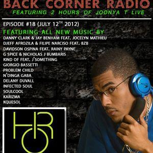 BACK CORNER RADIO: Episode #18 (July 12th 2012)