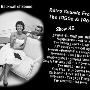 The Backwall Of Sound Retro Vinyl From The 1950s & 1960s - Show 35