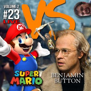 Mario vs Benjamin Button